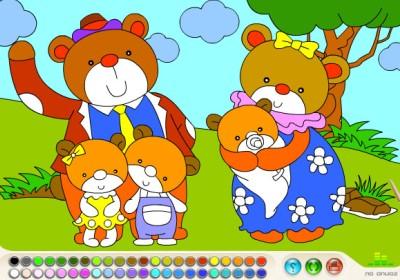 Раскраски в режиме онлайн: развивающие материалы для детей