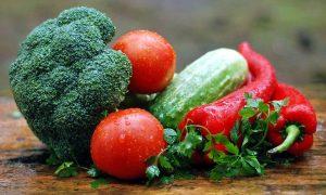 Овощи и зелень — залог здорового организма