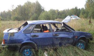 Молодой водитель серьезно пострадал в ДТП в Смоленской области