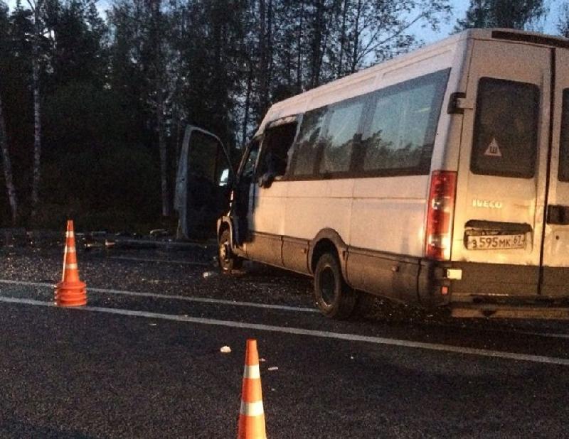 В аварии с участием смоленской маршрутки погибла 19-летняя девушка