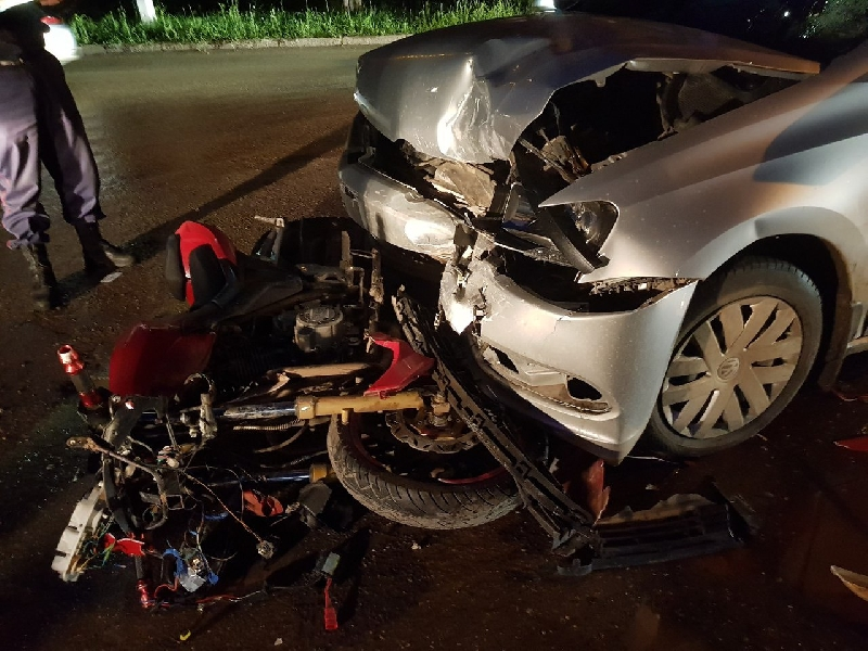 Двое подростков пострадали в ДТП в Смоленской области