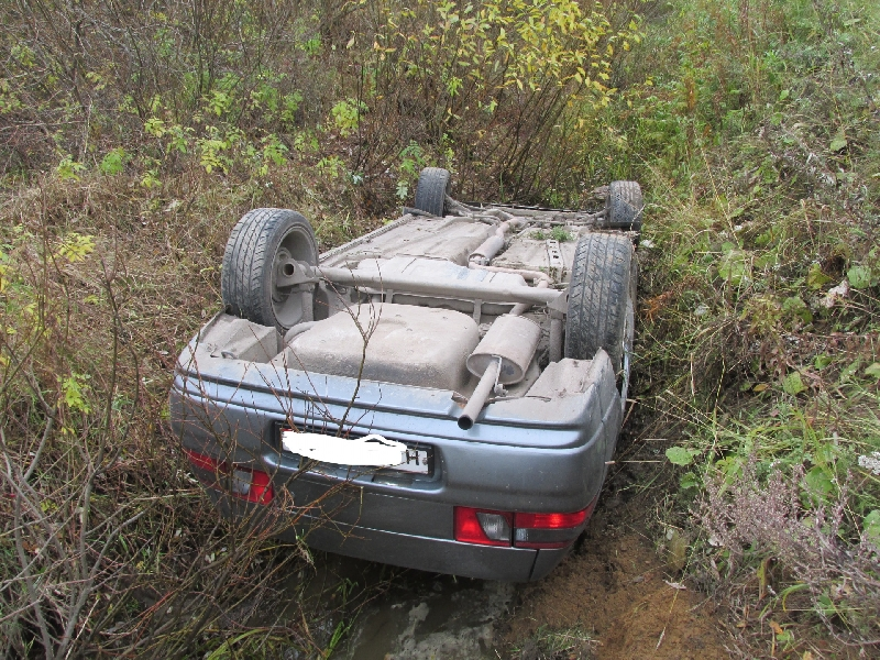 В Смоленской области автоледи пострадала в ДТП с велосипедистом