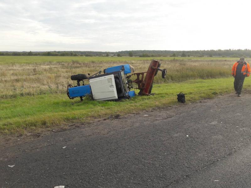Смолянин погиб в столкновении с трактором на трассе «Россия»