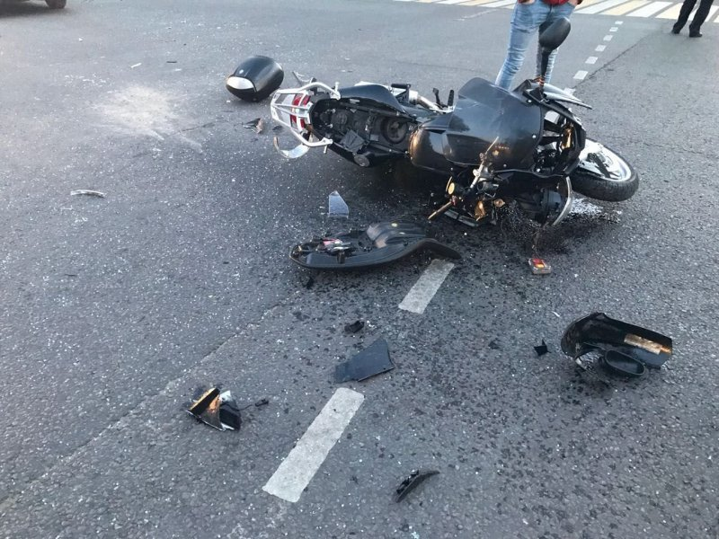 В ДТП в Смоленской области погиб мотоциклист