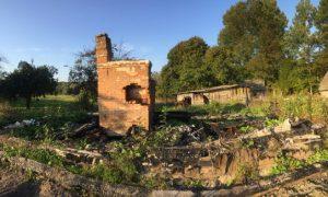 «В сгоревшем доме было найдено тело мужчины». В Смоленской области раскрыли жуткое преступление
