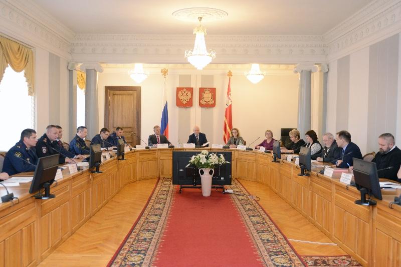 В Смоленске прошло заседание антинаркотической комиссии