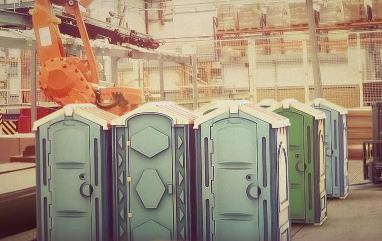 Производство туалетных кабин
