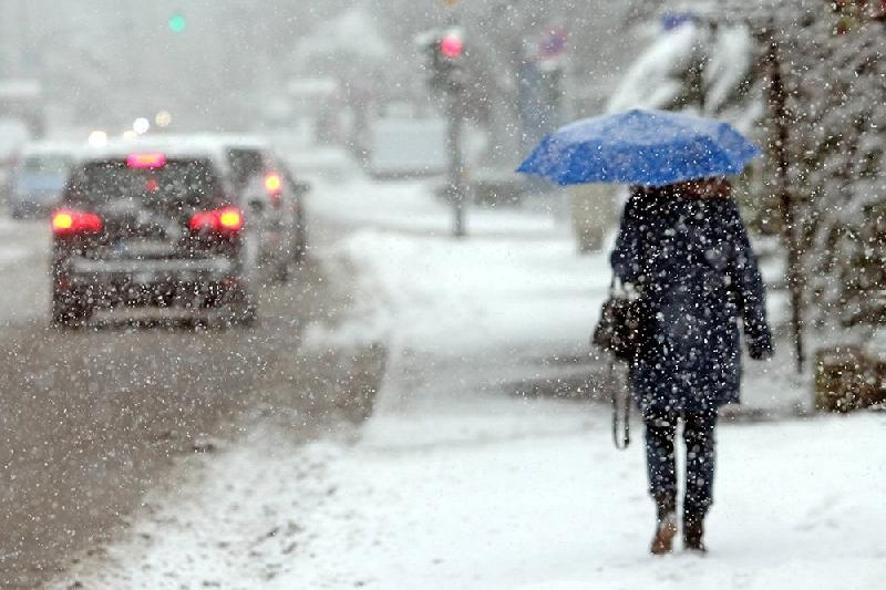 Синоптики прогнозируют снегопады в выходные в Смоленской области
