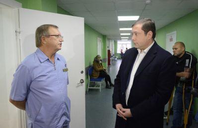 Глава региона Алексей Островский проинспектировал работу соцучреждений Смоленска