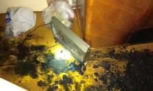 «Женщину вынесли на руках». Смолянка пострадала при пожаре в своей квартире