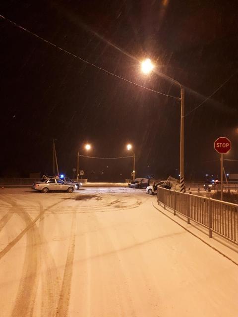 Четыре человека пострадали в аварии в Смоленском районе