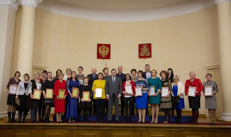 В Смоленской области наградили лучших медицинских работников