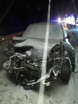 Женщина пострадала в ДТП на трассе М1 в Смоленской области