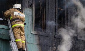 Утром в смоленской деревне сгорел мужчина