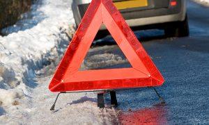 В Смоленской области иномарка столкнулась с фурой: три человека пострадали