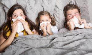 В Смоленской области снизился уровень заболеваемости гриппом и ОРВИ