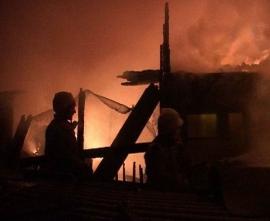 Смолянин пострадал при пожаре в своем доме
