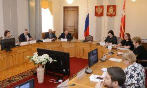 В Смоленске прошло заседание по проблемам инвалидов и граждан пожилого возраста