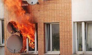 В Смоленской области стали известны подробности утреннего пожара, в котором пострадал человек