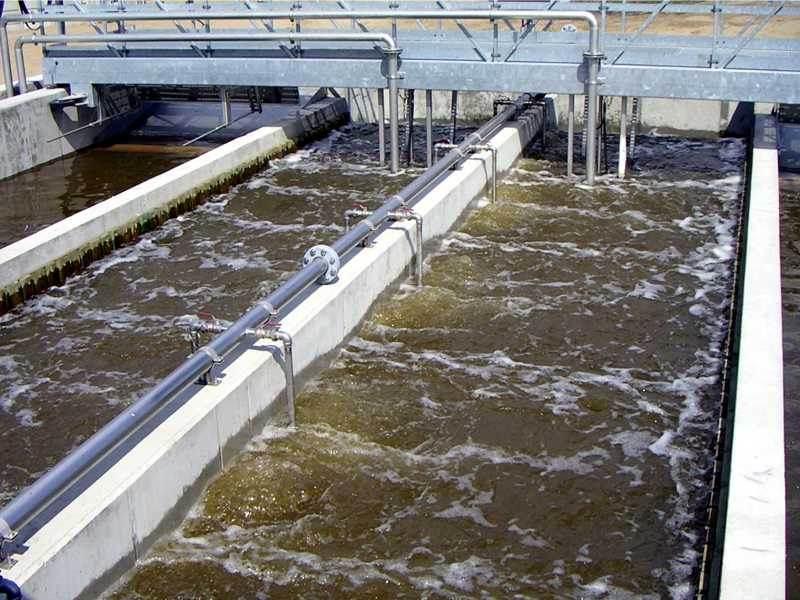 Песколовки для очистки сточных вод