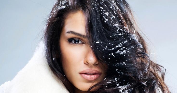 Женская красота зимой