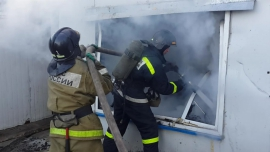 «Дом уничтожен, хозяин пострадал». Страшный пожар в Смоленской области