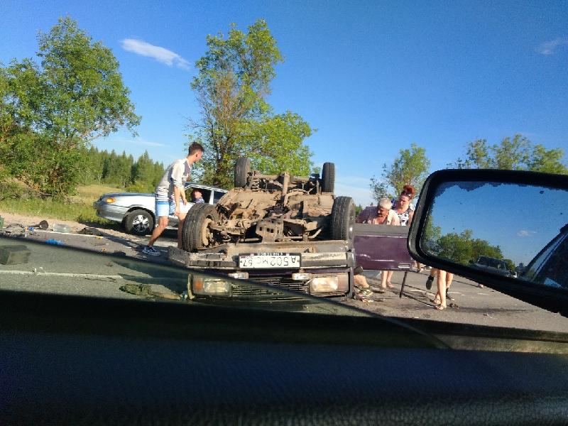 Из-за чего произошла страшная авария под Смоленском?