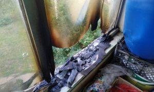 Стала известна причина вчерашнего пожара с пострадавшей в Смоленске