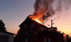 В Смоленской области случился пожар, в котором пострадал смолянин