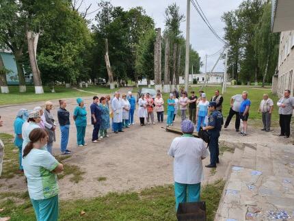 В Смоленской области эвакуировали Центральную районную больницу