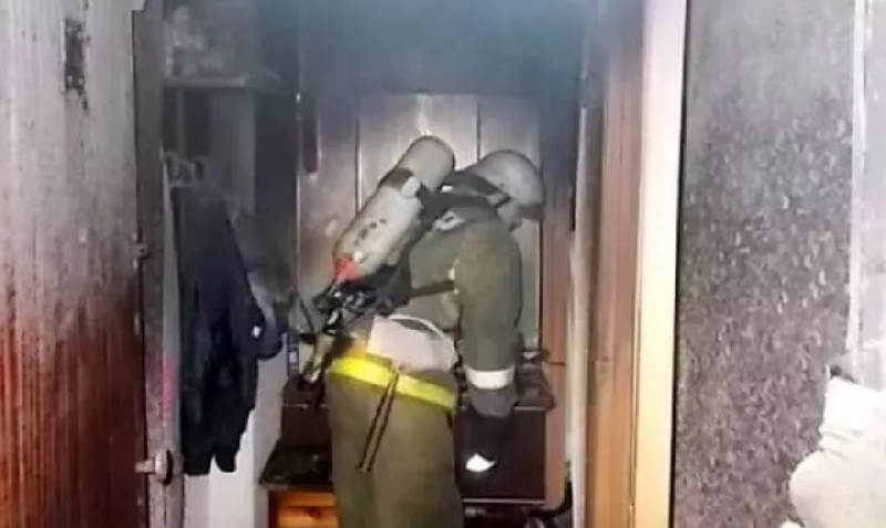 В Смоленске из пожара спасли 86-летнего мужчину