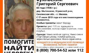 В Смоленской области ищут 83-летнего мужчину без памяти