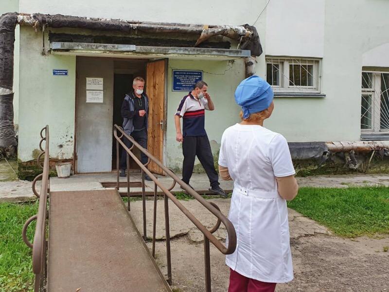 В Смоленской области эвакуировали противотуберкулезный диспансер