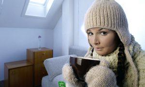 В Смоленске установилась «отопительная» среднесуточная температура
