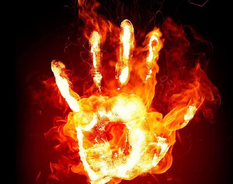 В Смоленской области огонь унес жизнь ребенка