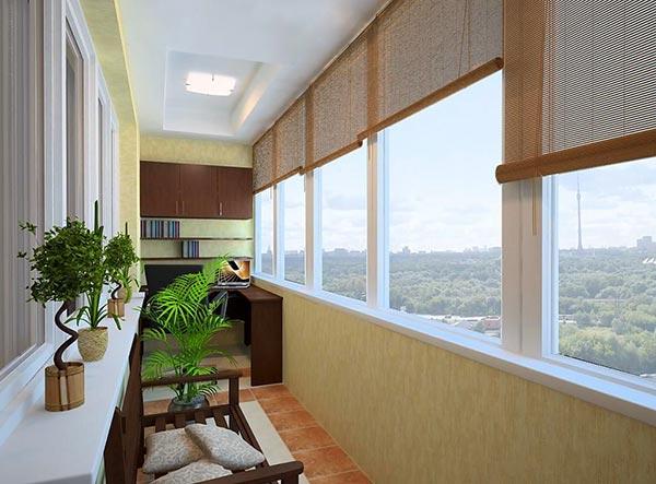 Утепляем балконное пространство