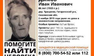 «Мы надеемся найти его живым». Смолян призывают активно помогать в поисках пенсионера