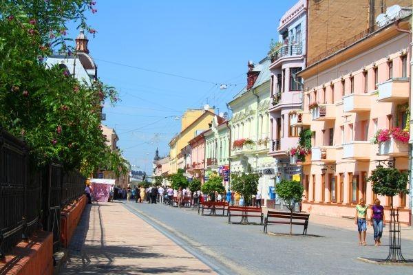 История города Черновцы