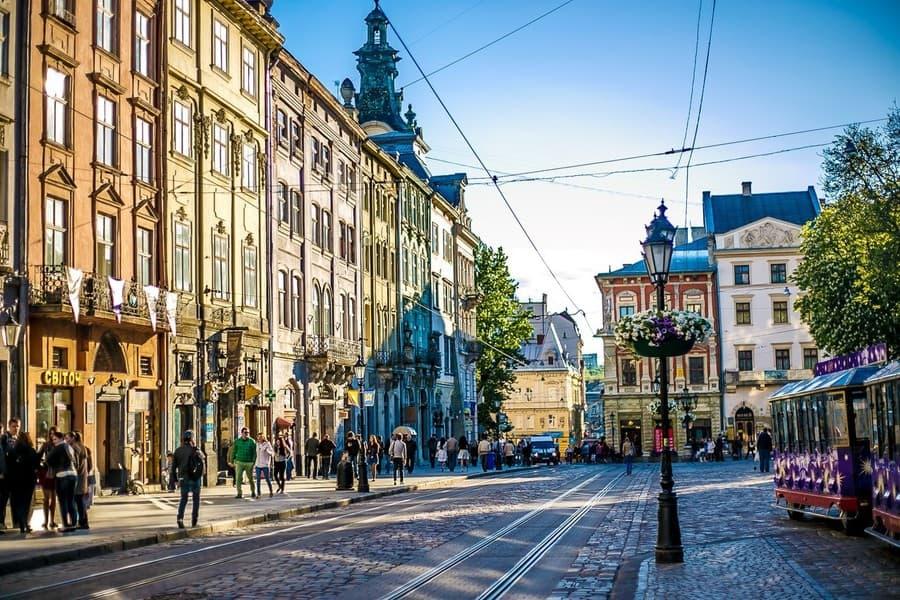 Главные достопримечательности города Львова