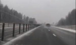 В Смоленской области замечен снег