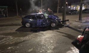 Жесткое ДТП в смоленском райцентре унесло жизнь водителя