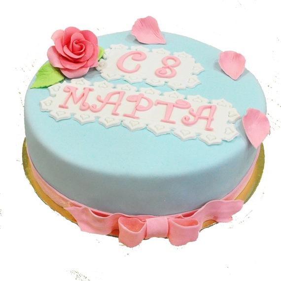 Великолепные праздничные торты в честь 8 марта от кафе-пекарни «ИВ»