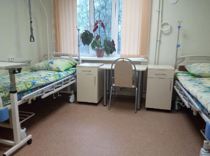 В Смоленском Геронтологическом центре «Вишенки» отремонтировали отделение милосердия