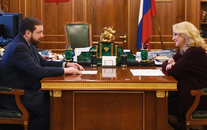 Алексей Островский провёл рабочую встречу с вице-премьером Татьяной Голиковой
