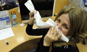 Россияне продолжают массово болеть гриппом и ОРВИ
