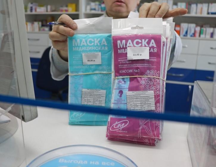 Активисты проверили цены на медицинские маски в аптеках Смоленска