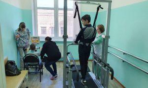 В реабилитационном центре «Вишенки» появилось новое оборудование