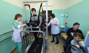 В Смоленске реабилитационный центр «Вишенки» получил новые тренажёры