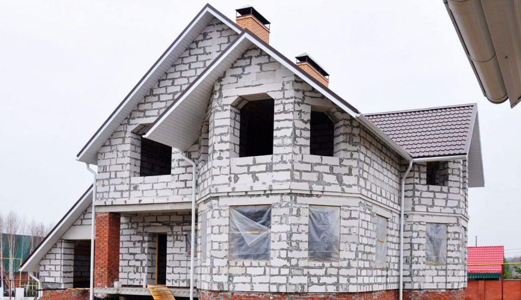 Строительство домов из пенобетонного блока (пеноблока)