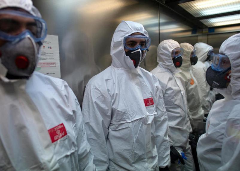 В инфекционном госпитале в Смоленске работают 214 человек
